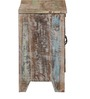 Tisha Shoe Cabinet in Distress Finish by Bohemiana