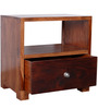 Fresno Bed Side Table in Dual Tone by Woodsworth