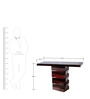 Weston Console Table in Passion Mahogany Finish by Woodsworth