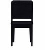 Houston Solid Wood Dining Chair in Espresso Walnut Finish by Bohemiana