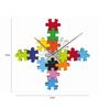 Karlsson Multicolour Plastic 12 Inch DIY Puzzle Wall Clock