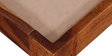 Kevala Queen Size Bed in Honey Oak Finish by Mudramark