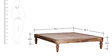 Kevala Queen Size Bed in Provincial Teak Finish by Mudramark
