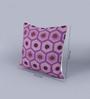 KEH Multicolour Wool & Cotton Embroidery 18 x 18 Inch Artistic Handmade Chain Stitch Cushion Cover