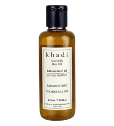 Khadi Anti Dandruff Balsam Ayurvedic Hair Oil (Paraben Free) (210 ml)