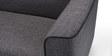 Kinaya Two Seater Sofa in Dark Grey Colour by Furny