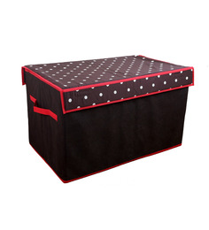 My Gift Booth Black Cotton Box