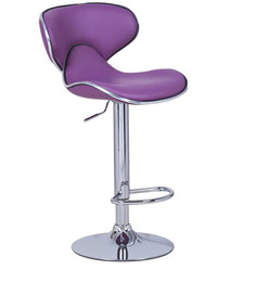 Kitchen/Bar Chair In Purple Colour By Exclusive Furniture - 1291149