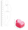 Kids Sofa in Cherry Pink Colour by Dwinguler