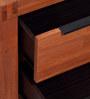 Kimberley Bedside Table in Light Walnut Finish by Evok