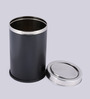 King International Black 18 L Dustbin