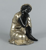 King International Royal Golden Polyresin Religious Buddha Idol Statue