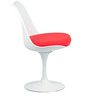 Kings Road Accent Chair in White Colour by HomeHQ