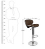 Kitchen/Bar Chair in Brown Colour by Exclusive Furniture