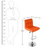 Kitchen/Bar Chair in Orange Colour by Exclusive Furniture