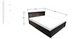Kosmo Ciara Queen Bed with Storage by Spacewood