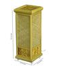 Kraftinn contemporary Beige Bamboo Floor Lamp