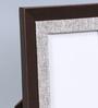 Kraftsmen Brown & Grey Faux Leather & Fabric 8 x 10 Inch Photo Frame