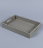 Kraftsmen PU Light Grey PU Serving Tray