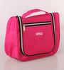 KRIO Designs Nylon Black & Pink Travel Organiser