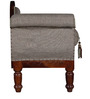 Hughes Settee in Honey Oak Finish by Amberville
