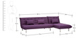 L shaped Sofa bed by Furny