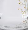 La Opal Diva Citron Weave Opal Ware Quarter Plate Set of 6