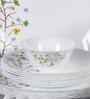 La Opala Diva Floral Magic Opal Ware 35-piece Dinner Set