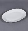 La Opala Diva Plain Fluted Opal Ware Rice Plate