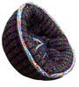 ORGANIC COTTON Lap Pouffe in Multicolour by Reme