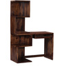 Lacanoia Study and Laptop Table in Provincial Teak Finish by Woodsworth