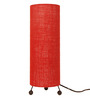 Abilio Table Lamp in Red by CasaCraft