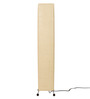 Abrigos Floor Lamp in Cream by CasaCraft