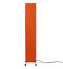Florna Square Orange Jute Floor Lamp by Casacraft