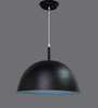 LeArc Designer Lighting Black & Blue Aluminium Pendant