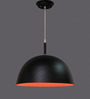LeArc Designer Lighting Black & Orange Aluminium Pendant