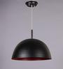 LeArc Designer Lighting Black & Red Aluminium Pendant