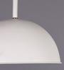 Learc Designer Lighting White & Gold Aluminium Pendant Light