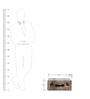 Leather Mini Portable Bottle Cum Glass Holder by Studio Ochre