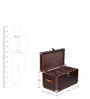 Genuine Leather Shoe Trunk - Brown By Studio Ochre
