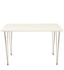 Lene Four Seater Dining Set in White Colour by HomeTown
