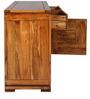 Leopold Sideboard in Walnut & Black Colour by HomeTown