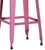 Mehia Bar Stool in Pink Colour by Bohemiana