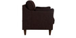 Liliana Two Seater Sofa in Chestnut Brown Colour by CasaCraft
