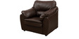Lily Leatherette Sofa Set in Dark Brown Color by Comfort Couch