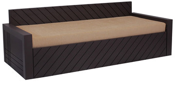 Libford Sofa Cum Bed In Brown Colour By Auspicious