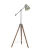 Jermaine Tripod Lamp in Silver by Bohemiana