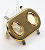 Selma Recessed Light in Gold by Casacraft