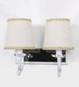 Gaia Wall Light in White by CasaCraft