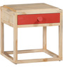 Vermillion Bedside Table in Natural Finish by Woodsworth